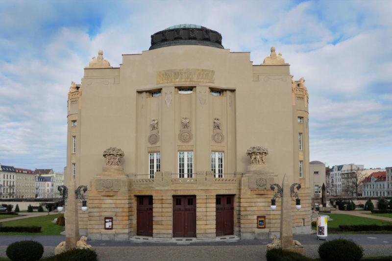 Staatstheater Cottbus_Großes Haus_Front