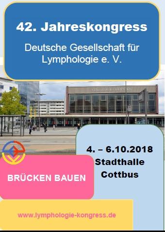 04.10.2018_Jahreskongress der Deutschen Gesellschaft für Lymphologie_2018